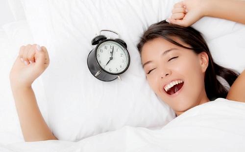 Một giấc ngủ sâu giúp bạn tràn đầy năng lượng khi thức dậy