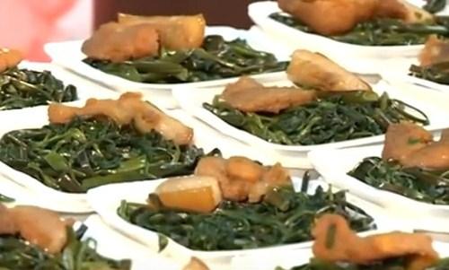 Suất ăn từ thiện cho bệnh nhân ung thư được chuẩn bị cẩn thận