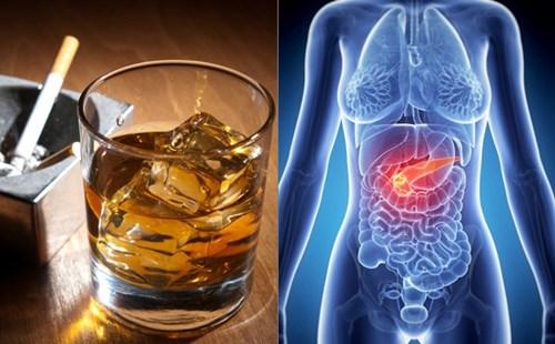 Bia rượu gây ung thư khi sử dụng quá nhiều