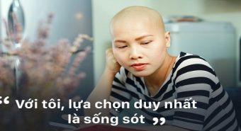 Tâm sự gây sốt của người mẹ đơn thân mắc bệnh ung thư