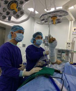 Phẫu thuật điều trị ung thư cho bệnh nhân