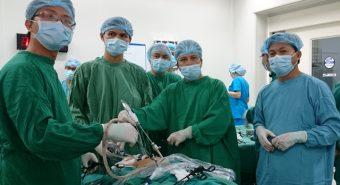 Điều trị ung thư thận bằng phương pháp cắt thận nội soi