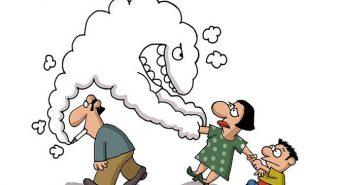 Hút thuốc lá thụ động lần ba cũng gây ung thư