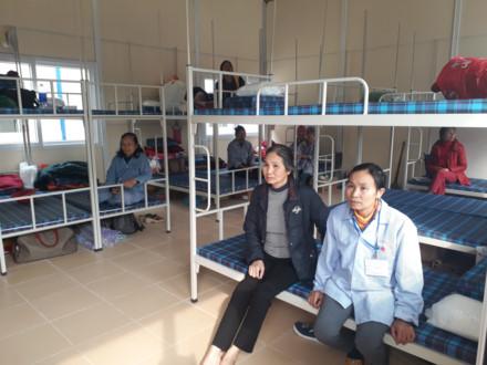 Khu nhà lưu trú cho người nhà bệnh nhân ung thư tại viện K