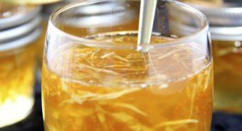 Điều trị bệnh ung thư phổi bằng mật ong và gừng