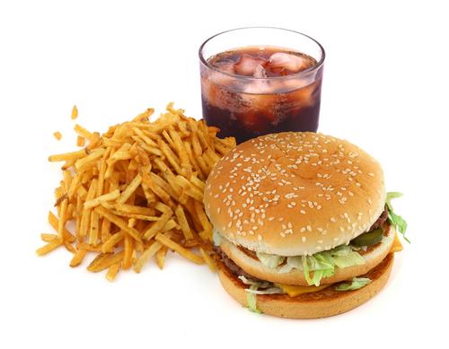 Ngừng ăn đồ ăn nhanh để ngăn ngừa ung thư.