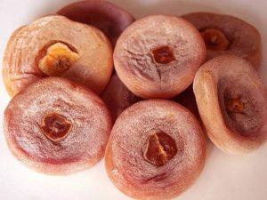 Hồng khô rất tốt cho người viêm amidan mạn tính