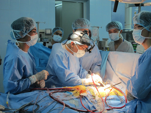 Điều trị ung thư dạ dày băng phẫu thuật