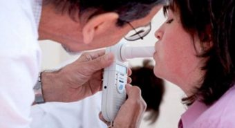 Thiết bị phát hiện ung thư phổi bằng hơi thở