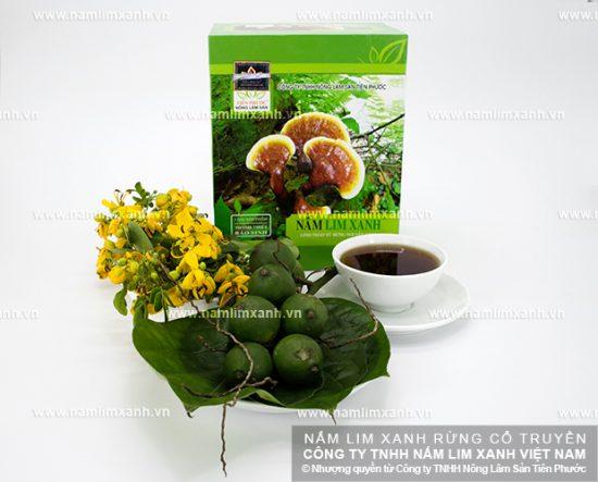 Hình ảnh Nấm Lim Xanh tự nhiên 2