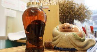 Hướng dẫn chi tiết cách ngâm rượu nấm lim xanh rừng tự nhiên