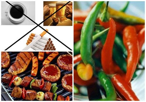 những thực phẩm nên tránh sau phẫu thuật ung thư dạ dày