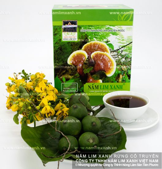 Hình ảnh vềNấm lim xanh tự nhiên
