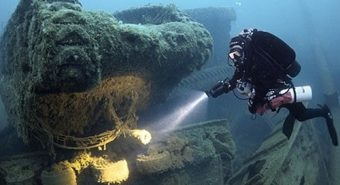 Nhiều tàu chở vàng trị giá 4,5 tỷ bảng Anh chìm dưới Đại Tây Dương