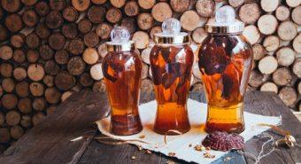 Rượu nấm lim xanh tăng cường sức khỏe cách uống rượu nấm lim