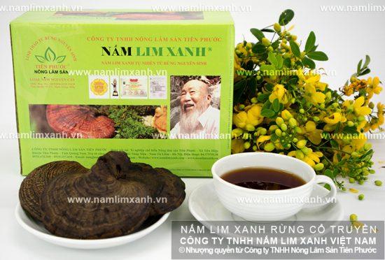 Sử dụng nấm lim xanh tự nhiên