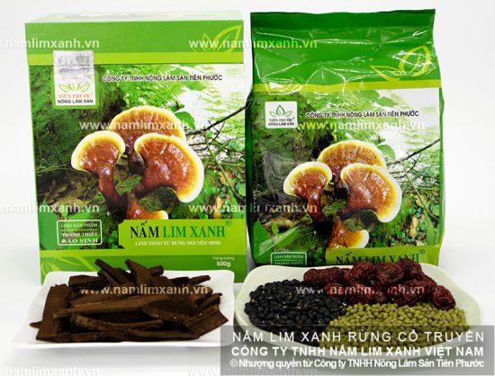 Cách dùng nấm lim xanh rừng chữa bệnh