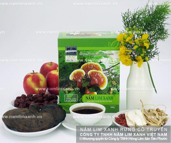 Chọn nấm lim xanh rừng tự nhiên để đảm bảo lượng dược chất
