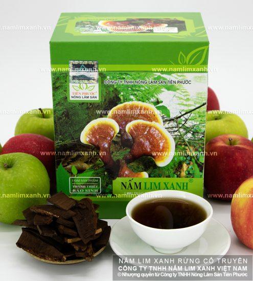 Công dụng của nấm lim xanh rừng tự nhiên