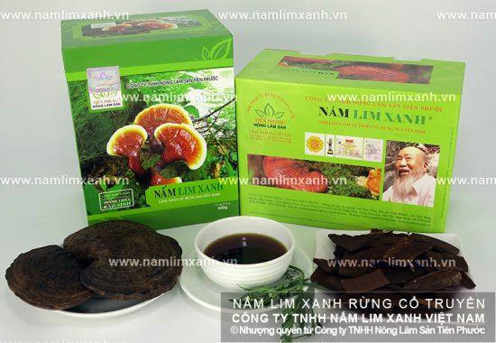 Công dụng nấm lim xanh Đà Nẵng với sức khỏe con người
