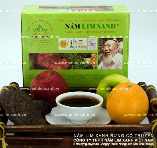 Dược chất của nấm lim rừng tự nhiên Quảng Nam