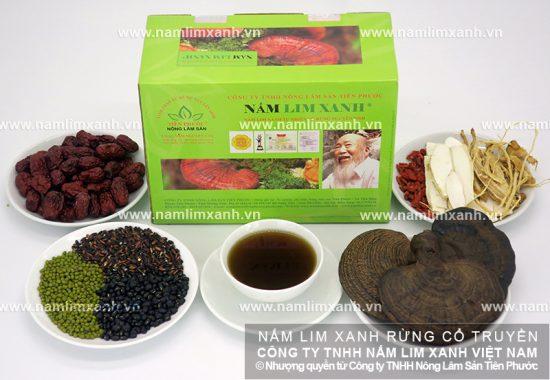 Giá nấm lim xanh tự nhiên niêm yết theo sản phẩm