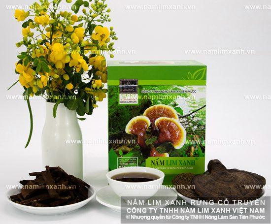 Hình ảnh về giá nấm lim xanh tự nhiên