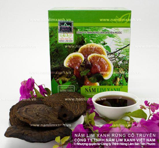 Hướng dẫn sử dụng nấm lim rừng tự nhiên Tiên Phước