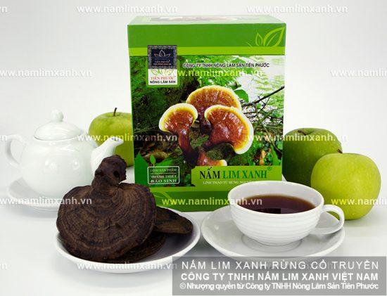 Nấm lim xanh Quảng Ninh