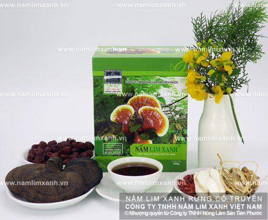 Công dụng của nấm lim xanh trị ung thư gì và tác dụng nấm lim rừng