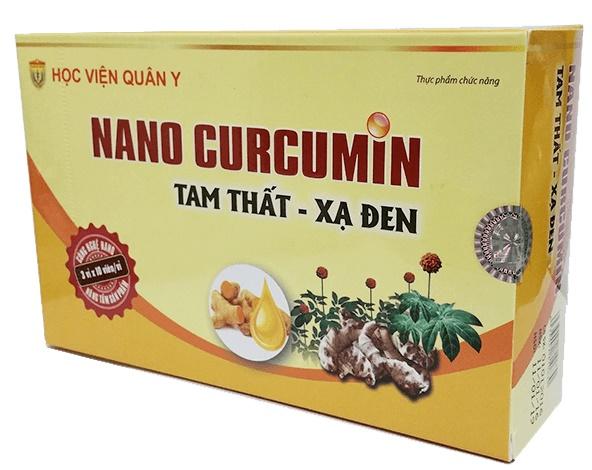 Nano curcumin tam thất xạ đen có công dụng gì