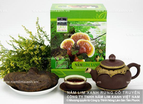 Phương pháp chế biến nấm lim xanh rừng tự nhiên như thế nào?