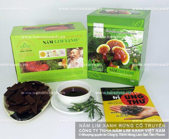Tác dụng chữa bệnh của nấm lim xanh rừng tự nhiên