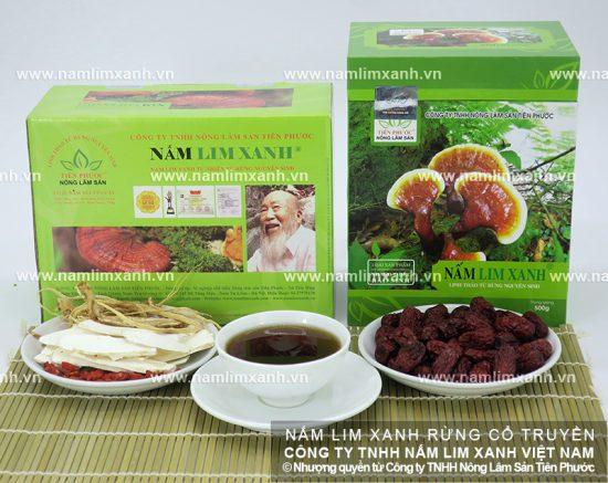 Tác dụng của nấm lim xanh hỗ trợ điều trị bệnh