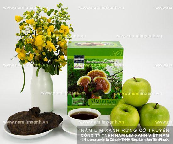 Tác dụng của nấm lim xanh Quảng Ninh