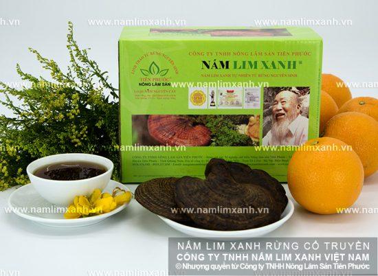 Bảng giá sản phẩm nấm lim xanh Quảng Nam