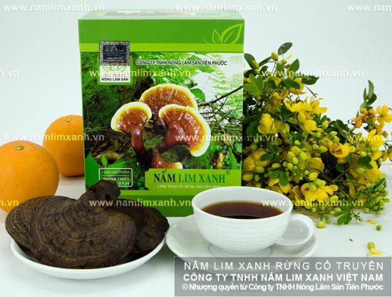 Cách dùng nấm lim xanh rừng Lào tốt nhất