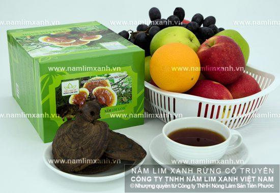 Giá bán nấm lim xanh Quảng Nam chia thành 3 loại