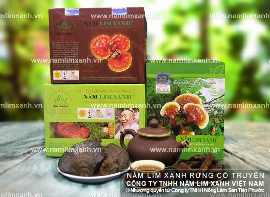 Giá nấm lim xanh của Công ty Tiên Phước bao nhiêu tiền 1kg?