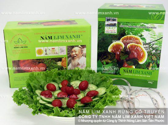 Tác dụng cây nấm lim xanh chữa ung thư giai đoạn đầu