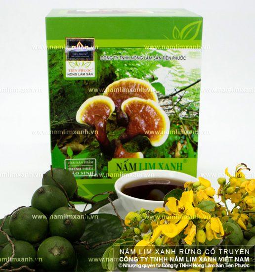 Tác dụng của dược chấtadenosine trong nấm cây lim xanh