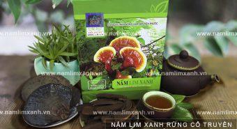 Tác dụng nấm liêm xanh chữa bệnh gì cách uống nấm lim rừng đúng